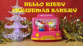 preview picture of video 'HELLO KITTY MIMMY AND CATHY GET THE BAKERY VAN READY FOR CHRISTMAS'