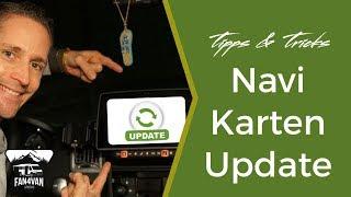 Karten Update - So funktioniert die Navi-Karten-Aktualisierung