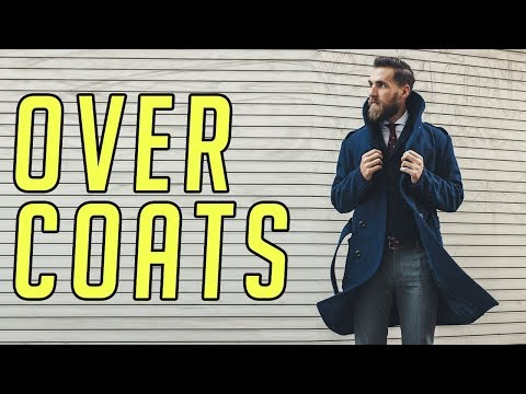 How to Wear an Overcoat (Topcoat) for Fall & Winter || Men's Fashion 2017 || Gent's Lounge