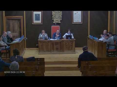 DIRECTO: Pleno del Ayuntamiento de El Burgo de Osma (02.03.2020)