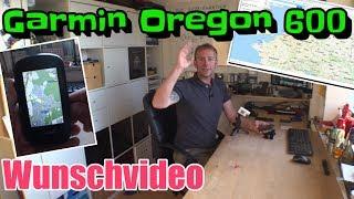 Garmin Oregon 600   Navigation   Rucksackhalterung   Wunschvideo