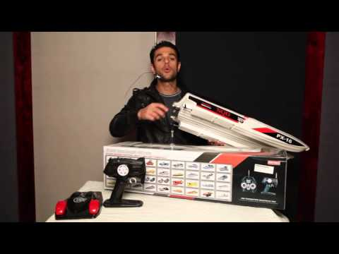 Storm Engine PX-16 RC Boat Unboxing review