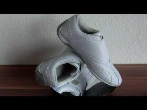 Fashion Schuhe mit Klett Synthetic He.-Sportschuh weiß