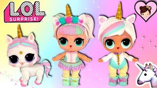 LOL Unicorn Family  - DIY Big Brother and Custom Unicorn Pet