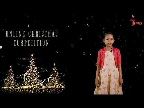 ANGELA RAPHY | ONLINE CHRISTMAS SPEECH COMPETITION - LP | SANJOS VOICE