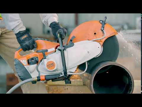 Stihl TS 440 Cutquik in Greenville, North Carolina - Video 1