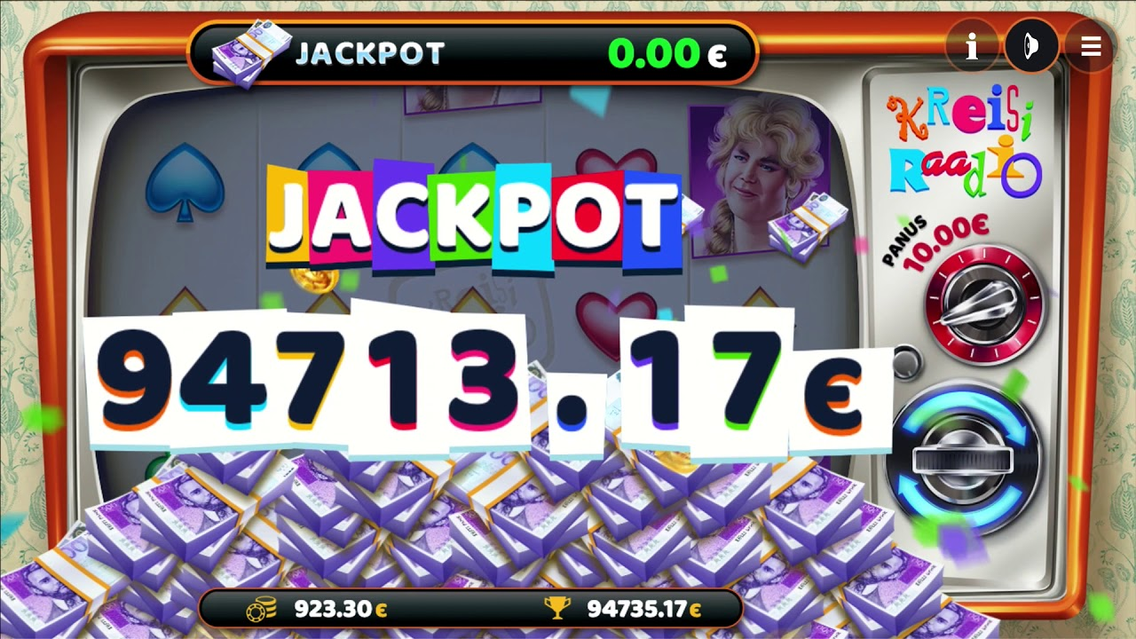 Kreisiraadio jackpot video – young player wins €94,713 on exclusive Paf slot