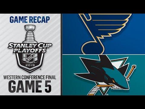 Schwartz gets hat trick, Blues blank Sharks in Game 5