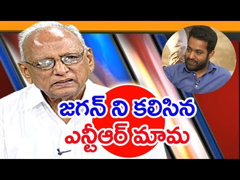 NTR's Father in Law Narne Srinivasa Rao Met YS Jagan  At Lotus Pond | IVR Analysis | Mahaa News