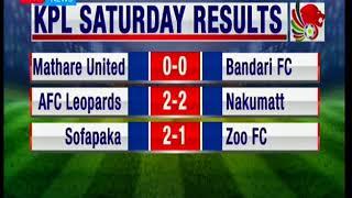 Kenya premier league Saturday results