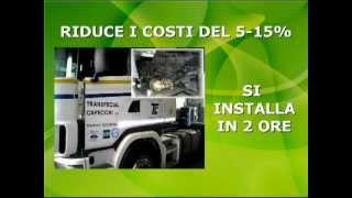 preview picture of video 'Econogreen - Risparmio benzina e gasolio Mezzi Pesanti'