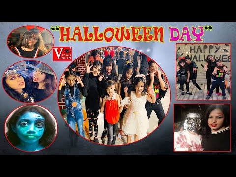 """HALLOWEEN DAY""Celebration by Madhu's Aim Fitness & Dance Floor Visakhapatnam,Vizagvision"