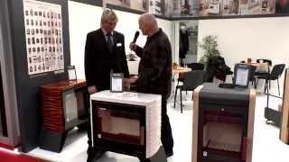 Кафельная печь камин на дровах Haas+Sohn Skive-C ( медовая), изразцовая  печь , каминофен від компанії House heat - відео