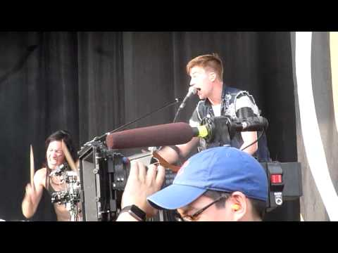 Matt And & Kim Live Firefly Music Festival The Woodlands Dover DE June 20 2015