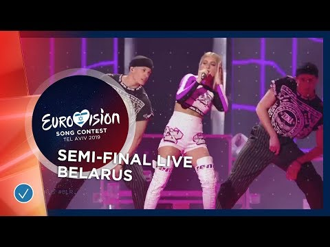 Belarus - LIVE - ZENA - Like It - First Semi Final - Eurovision 2019 видео