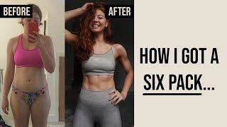 HOW I GOT MY SIX PACK... | TOP TIPS & MOVES