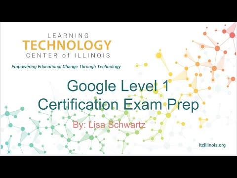 Get Google Certified! Level 1 Certification Exam Prep - YouTube