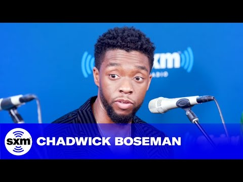 Chadwick Boseman gets emotional while discussing impact of Black Panther