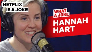 Hannah Hart Reveals Why She's Slowing Down On YouTube | What A Joke | Netflix Is A Joke