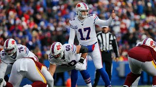 First look at Bills vs. Washington Football Team   What's up with Josh Allen?