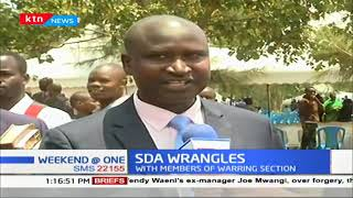 Tension high at Kangemi SDA as contingent of men in black arrive at the church