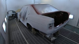 BMW E34 РЕСТАВРАЦИЯ КУЗОВА ! ЧАСТЬ 2 !