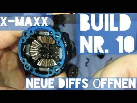 X-Maxx neue Differenziale öffnen Build Teil 10  | HD | Deutsch / German