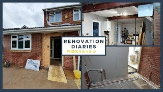 House Extension Week 8, 9 & 10