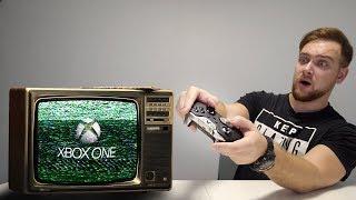 Запустил XBOX на СТАРИННОМ телевизоре!