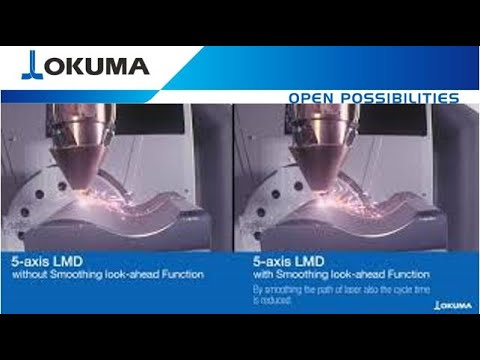 Benefit of a 5 Axis MU 6300 LASER EX LMD