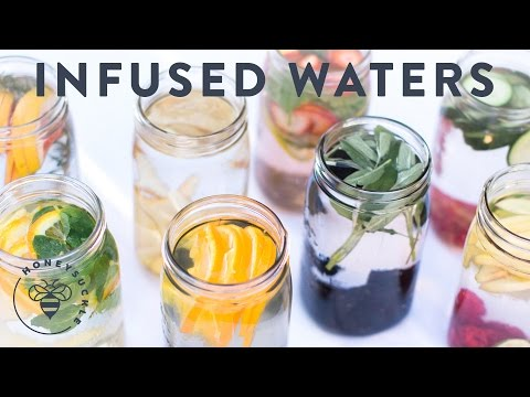 Video Fruit Infused Water: 8 Ways to drink more Water - Honeysuckle