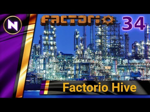 Factorio Hive #34 ROBOTS