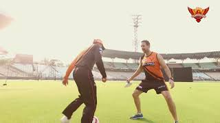 SunRisers Hyderabad | SRH's First Practice Session At Eden | #OrangeArmy | VIVO IPL 2019