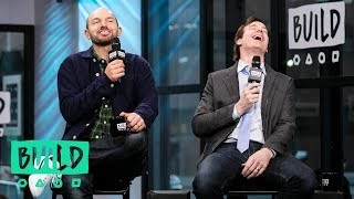 Rob Huebel And Paul Scheer Joke With An Audience Member About Hitting A Kid With His Car