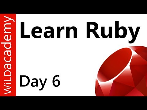 Ruby Programming – 6 – How to Write Arrays in Ruby