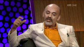Christian Louboutin explains why women love shoes