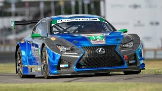 Lexus RC-F GT3 5.4 Naturally Aspirated V8 SOUND on the Track! | Kholo.pk