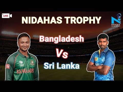 LIVE Sri Lanka Vs Bangladesh, 6th T20I Cricket Score | SL vs BAN T20 | NYOOOZ TV