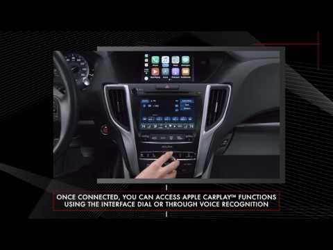 Acura - TLX - Apple Car Play