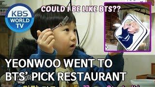 Yeonwoo went to BTS' pick restaurant [The Return of Superman/2020.03.01]