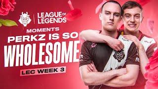 LEC : le highlight et Voicecomms de la semaine 3 des G2 Esports