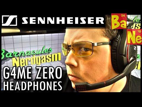 Sennheiser G4ME ZERO Gaming Headset w/ Mic Review