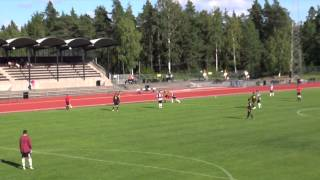preview picture of video 'Huddinge - Sollentuna, P94, Pojkallsvenskan, PA, 110814, fotboll'