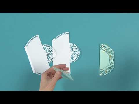 DIY Beautiful & Elegant Moroccan Lace Card