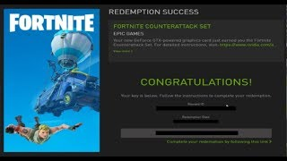 how to redeem nvidia geforce now code fortnite - Thủ thuật