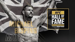 Michael Bisping Joins the UFC Hall of Fame
