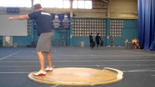 Shot Put Technique Session 1-2-12