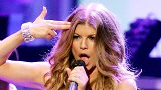 Fergie - Fergalicious/Clumsy/Big Girls Don't Cry live @ AMAs 2007 [HD/HQ] ft. will.i.am