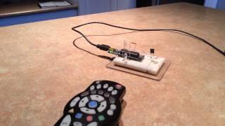 IR Remote Test