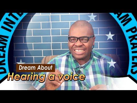 DREAM ABOUT HEARING A VOICE - Evangelist Joshua Orekhie Dream Dictionary